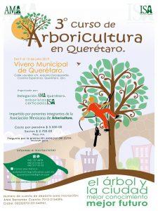 3er Curso de Arboricultura – julio 2019, Querétaro