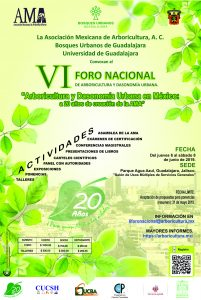 6 Foro Nacional de Arboricultura y Dasonomía Urbana