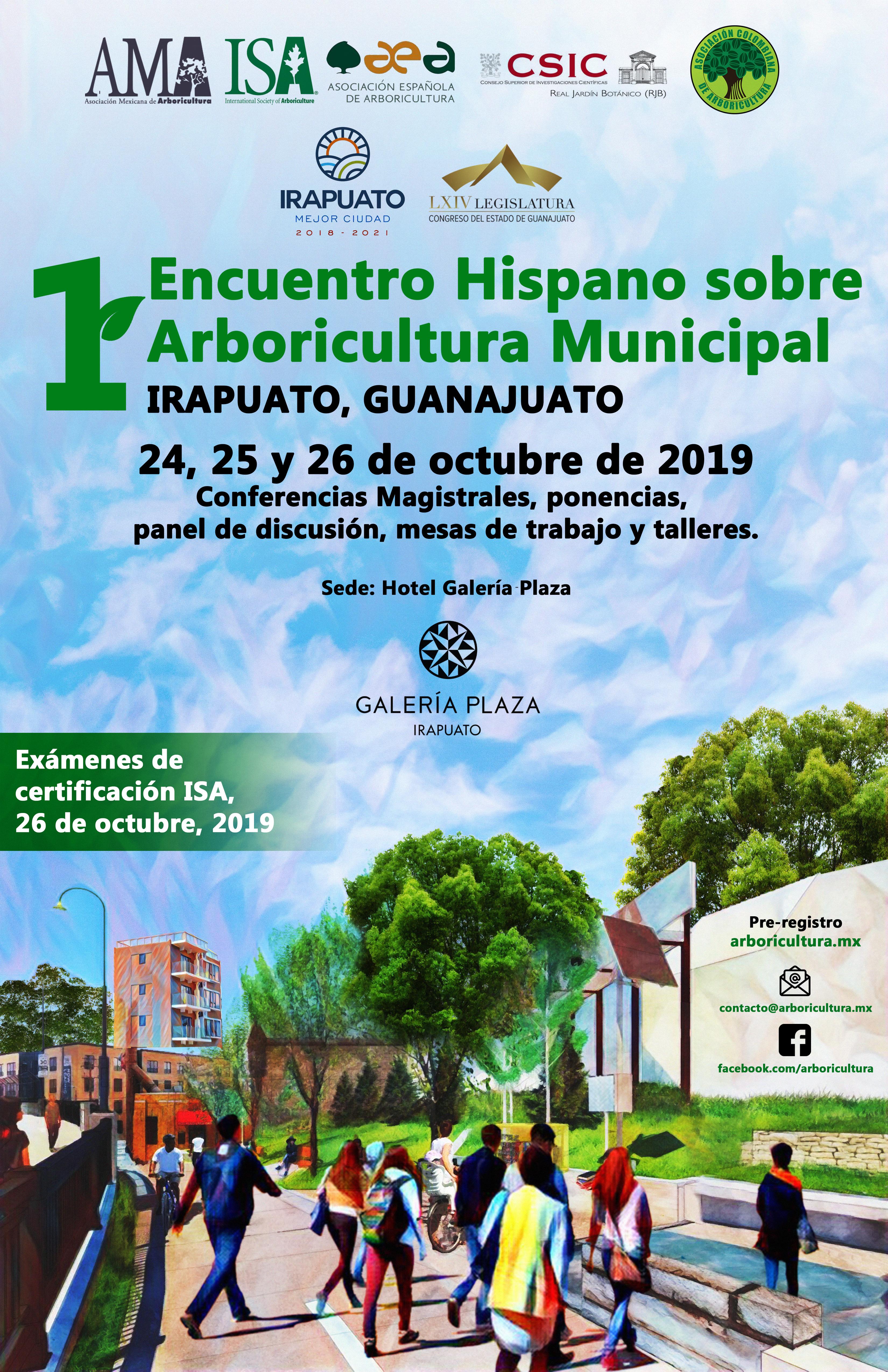 Primer Encuentro Hispano Sobre Arboricultura Municipal