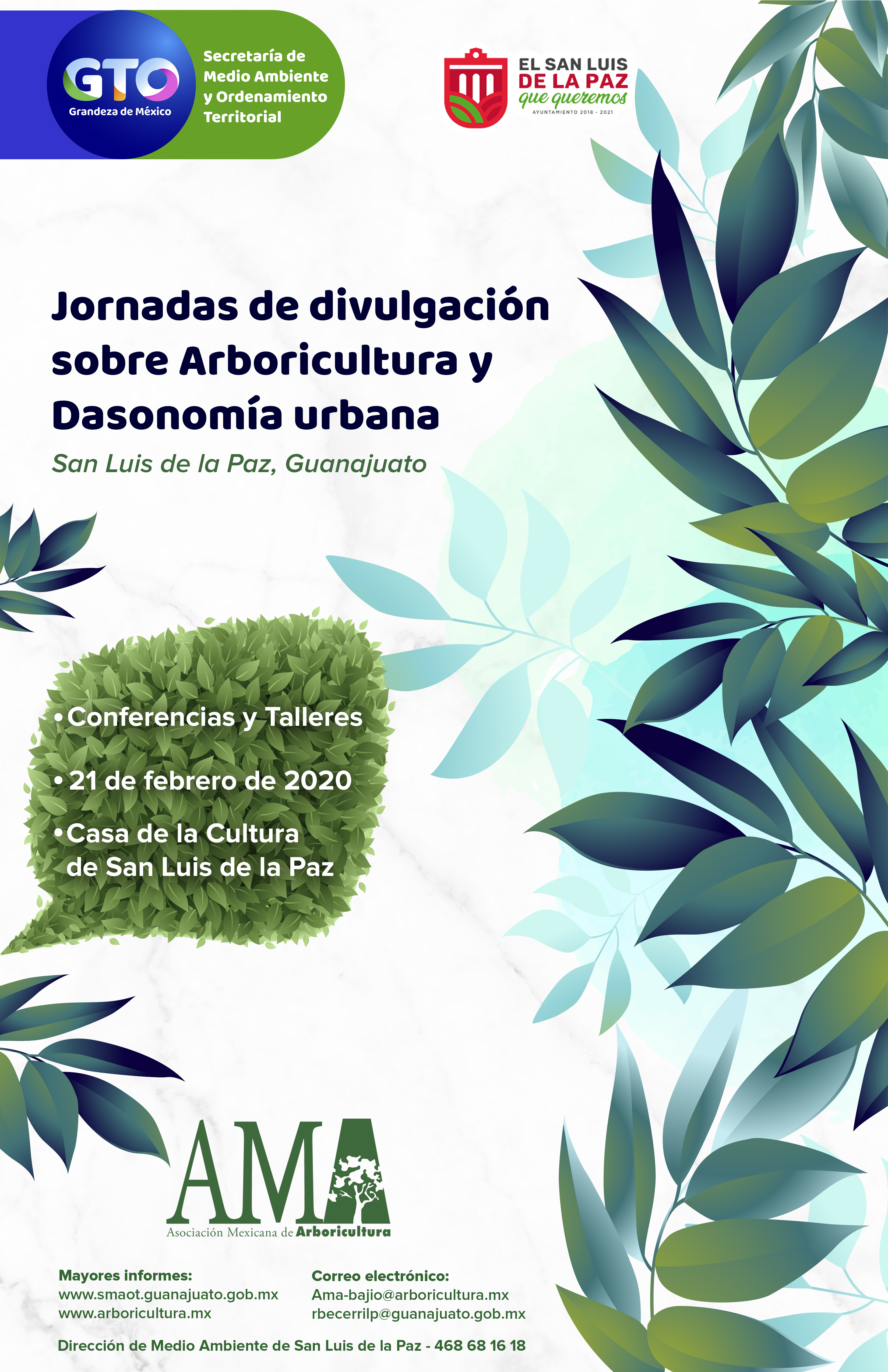 Jornadas de Divulgación sobre Arboricultura y Dasonomía Urbana
