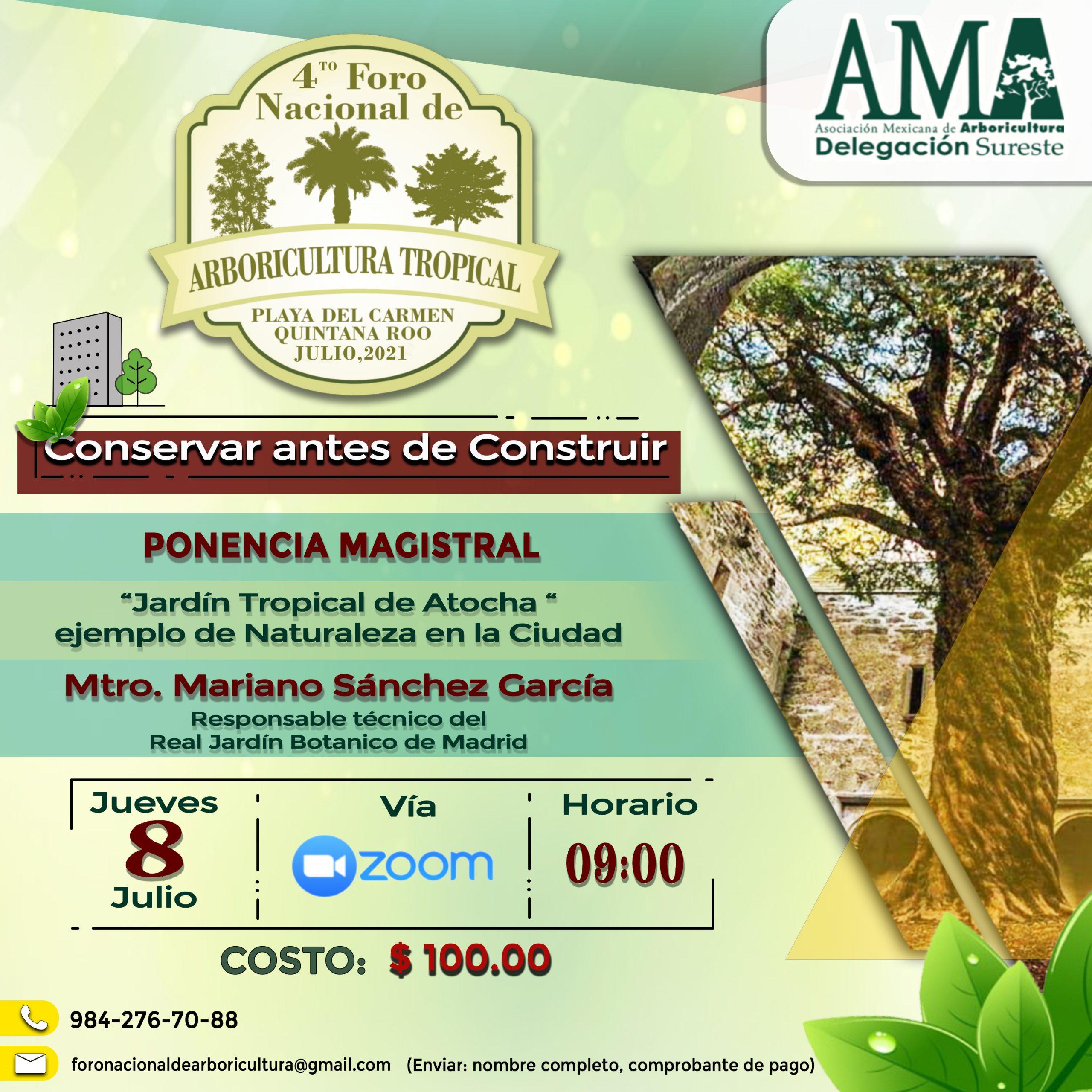4to. Foro de Arboricultura Tropical