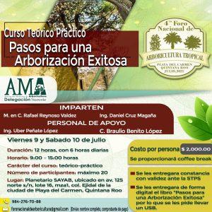 "Curso – taller ""Pasos para una Reforestación exitosa"""