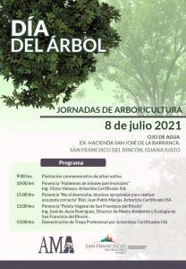 Día del árbol 2021 en Guanajuato